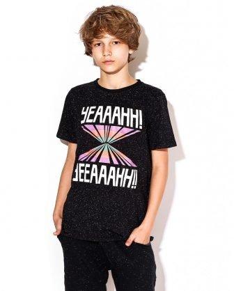 camiseta infantil unissex estampada