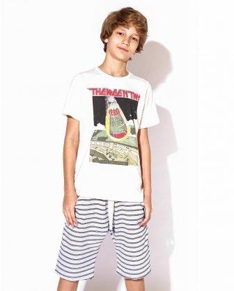 camiseta infantil unissex meninos estampada universo