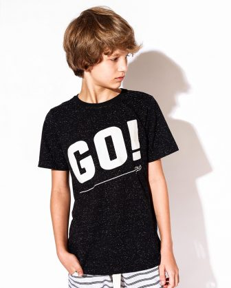 camiseta infantil unissex basica estampada